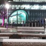 중앙도서관 겨울풍경