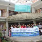 112014 네팔의료봉사 후에 새삶센터에서 전체대원들